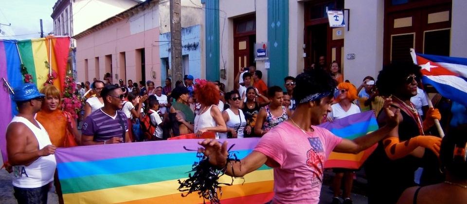 Baracoa Cuba Marcha contra homofobia