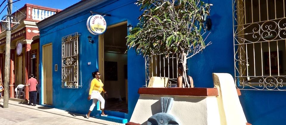 Galería de arte • Art gallery • Galerie d'art Eliseo Osorio Baracoa Cuba