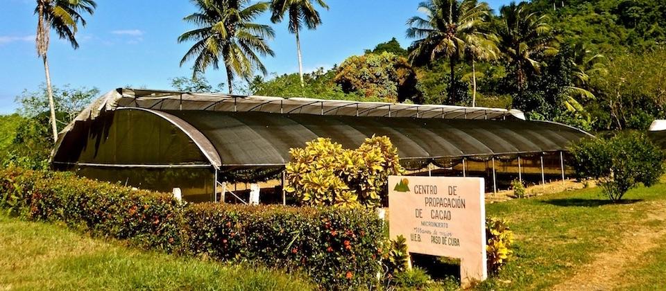 Centro de propagación de cacao Baracoa Cuba