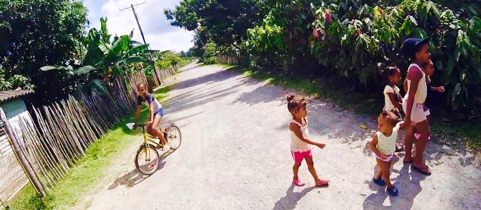 Kids at Humboldt Park • Baracoa Cuba