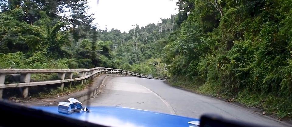La Farola from Santiago to Baracoa Cuba