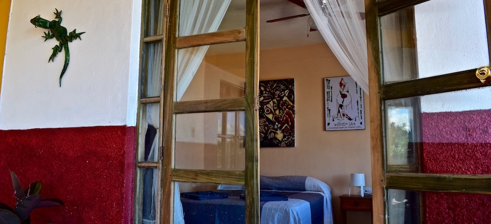Villa Paradiso Baracoa Bedroom ArtWork