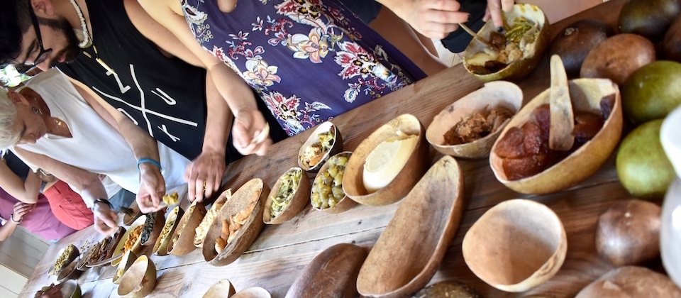 Nengon & Kiriba • Tasting Traditional Dishes • El Guirito, Baracoa, Cuba