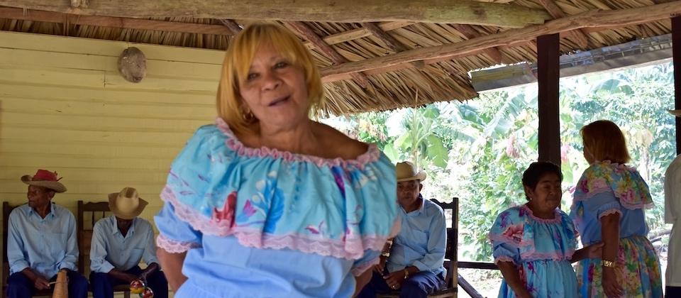 Nengon & Kiriba Group Director Tereza Roche • El Guirito, Baracoa, Cuba