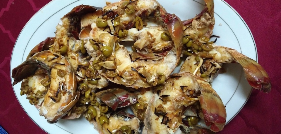 Lobster Tails • Langouste • Langosta Al Ajillo • Villa Paradiso Baracoa Cuba