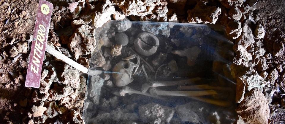 Ossements • Musée archéologique • Baracoa Cuba