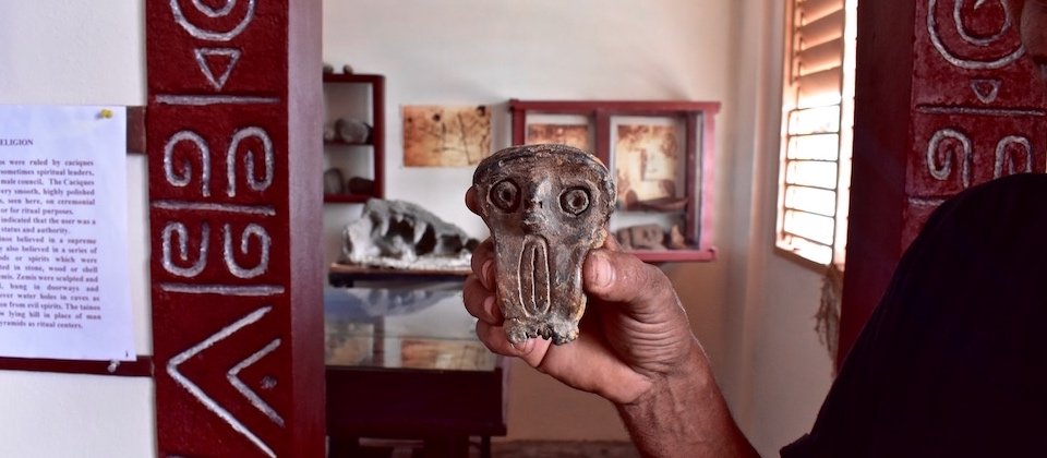 Taino clay figure • Baracoa Archaeological Society