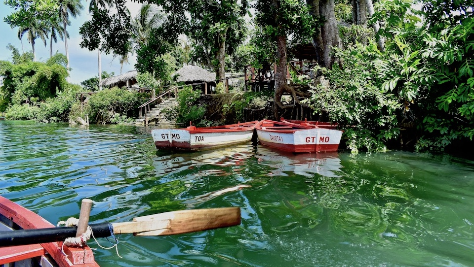 Boat ride on River Toa • Baracoa Cuba