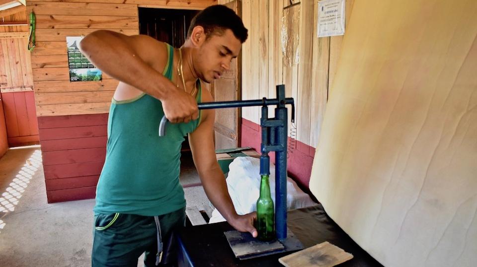Productos agroecológicos Parque Humboldt Baracoa Cuba