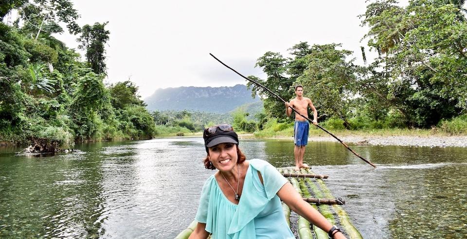 Heidi Siefkas in River Duaba • Baracoa Cuba