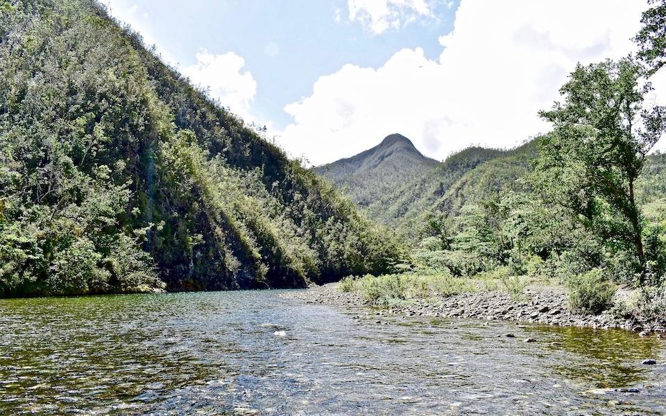 Río Las Minas Baracoa Cuba