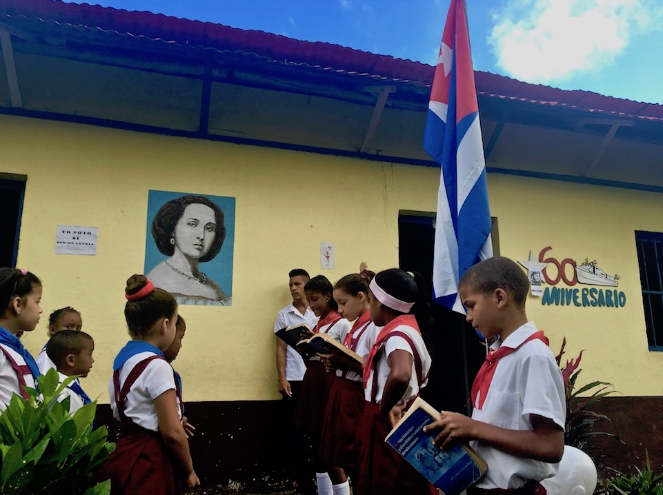 Countryside school école campagne Baracoa Cuba