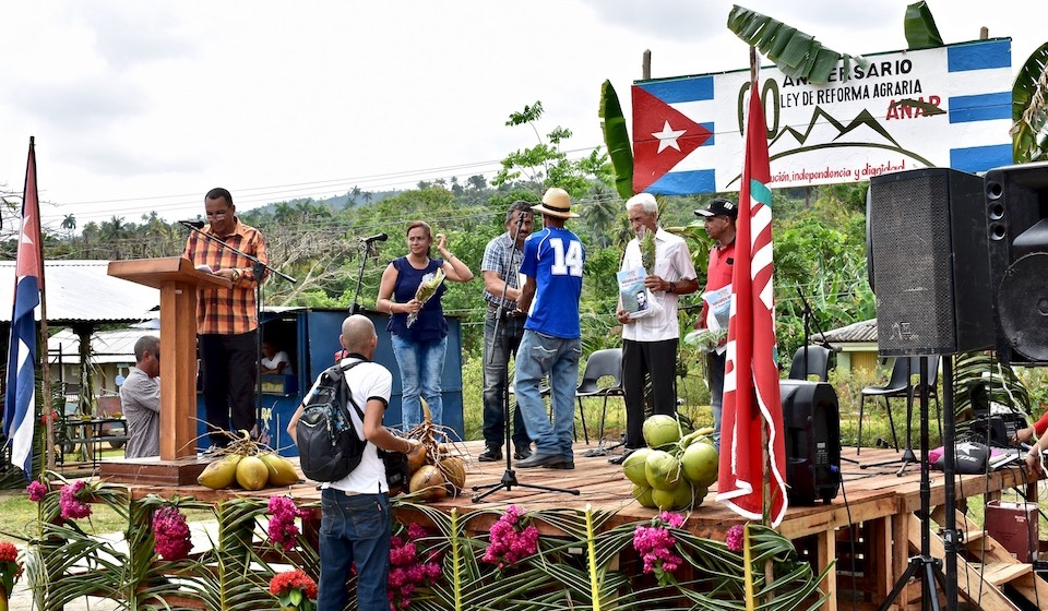 Cuban Peasant Day celebration in Baracoa, Cuba
