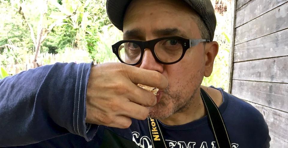 Dégustation miel Cuba honeycomb tasting