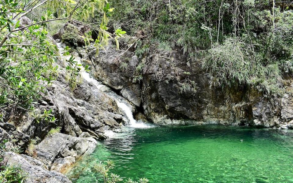 River Duaba Waterfalls Cascadas Cascades Baracoa Cuba