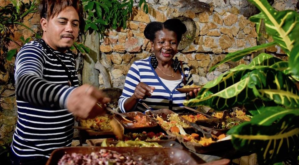 Best vegan vegetarian restaurants Eastern Cuba Baracoa