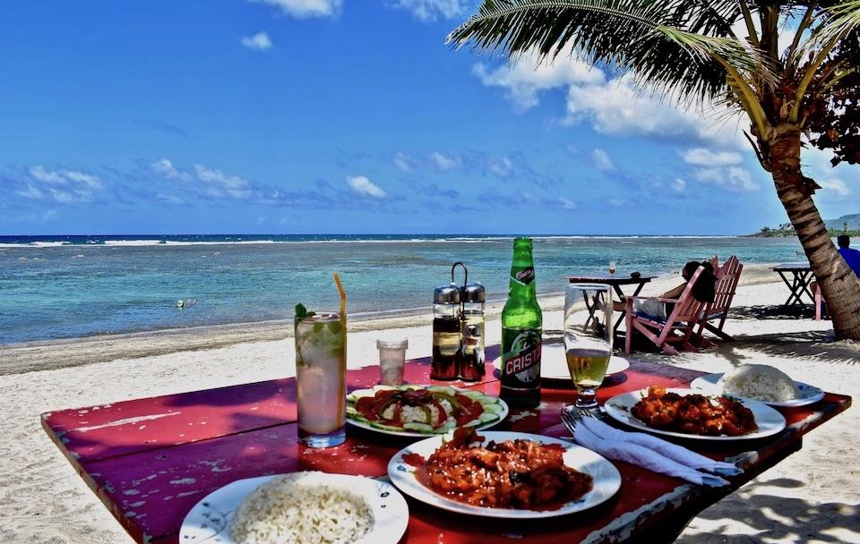 Best Seafood Restaurants Eastern Cuba Baracoa Manglito Beach