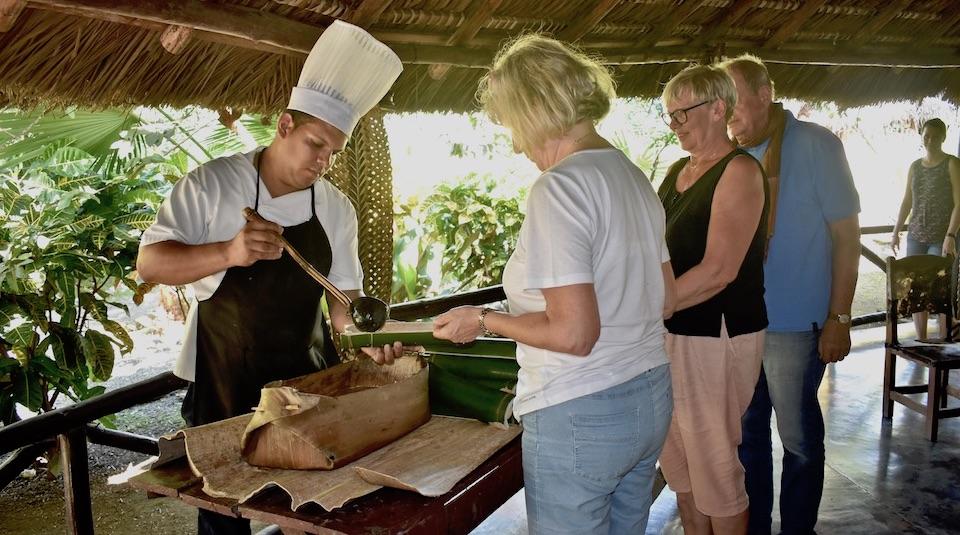 Best traditional food restaurants Eastern Cuba Baracoa