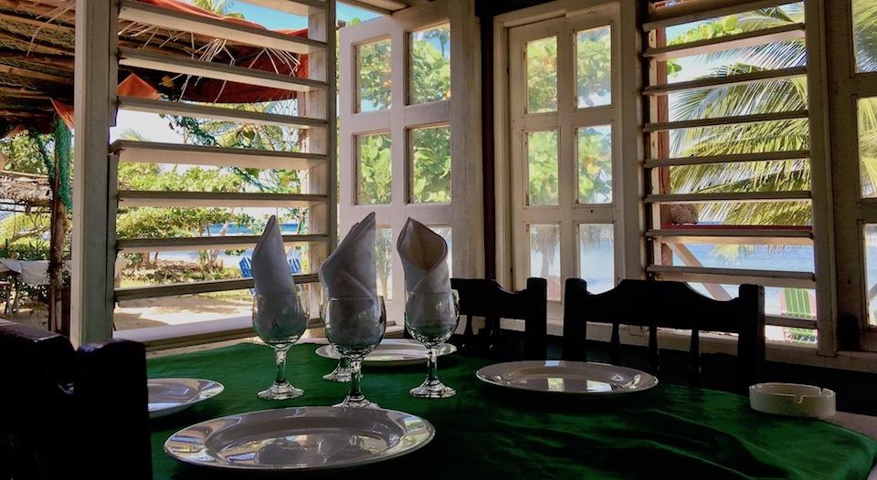 Best Restaurants Eastern Cuba Baracoa El Manglito Beach