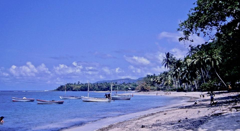 Plage El Manglito Beach Baracoa Eastern Cuba