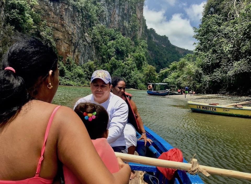 Yumuri Canyon Boat Ride • Baracoa Eastern Cuba