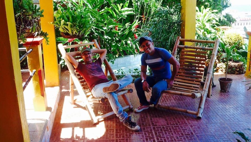 Manuel & Roberto • Villa Paradiso Hosts • Baracoa Cuba