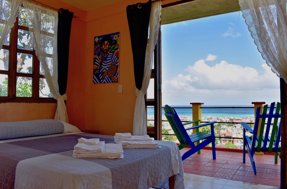 Villa Paradiso • Casa Particular • Baracoa Cuba • Sea View Balcony