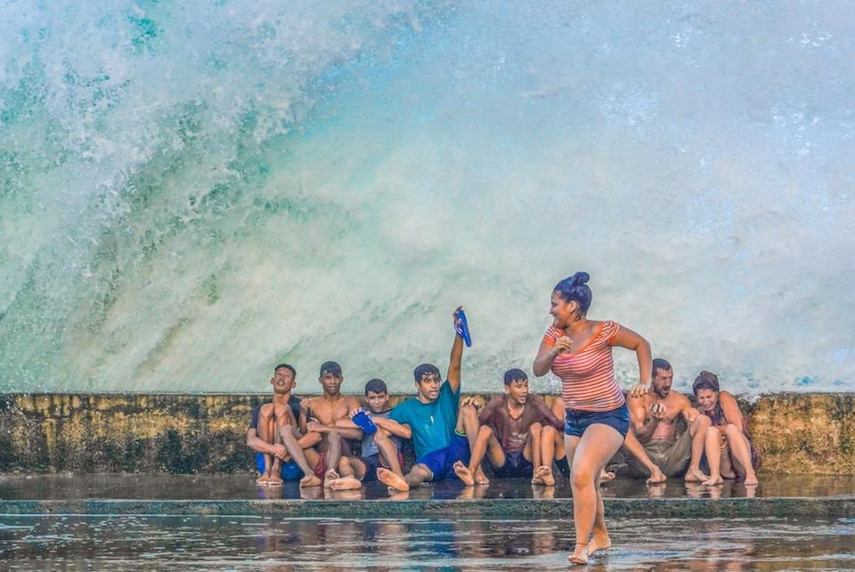 Renald Laurin • Malecón de Baracoa • Cuba